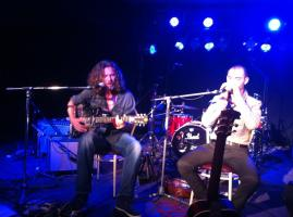 Francesco Renna and Mike de Velta live at The Perth Blues Club